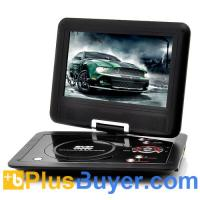 Buy cheap 10 Inch Swivel Screen Portable DVD player (Hitachi 120x Lens, 1024*600, 16:9) from wholesalers