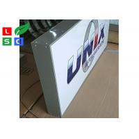 Buy cheap Signle Sided Custom LED Outdoor Light Box Front Signs For Shop, Bars Adersiting And Branding from wholesalers