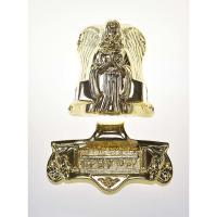 Wholesale Angel Shaped Metal Casket Fitting 19# In Gold Plating Treatment SGS Approved from china suppliers