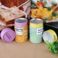 Buy cheap Custom Logo Printing Easy Open End Lid Box Paper Tube For Tea from wholesalers
