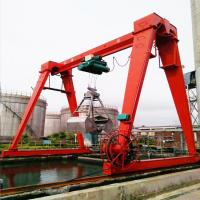 Buy cheap Cabin Control Single Girder Gantry Crane 20 Ton For Building Material Shops from wholesalers