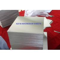 Buy cheap Electrical AZ31B Magnesium Plate , Magnesium Silicon Alloy Medium Strength<150°C from wholesalers