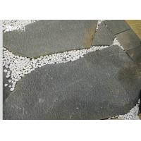 Wholesale Irregular Natural Grey Slate Paving Stones Pollution Resistance 15-30mm Thick from china suppliers