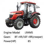 Buy cheap Taishan Wheel Tractor Mountain-Tai Ts850/Ts854 EURO 2, 4*4 4*2, 85HP from wholesalers