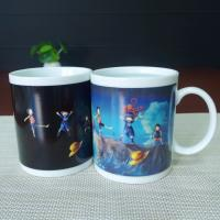Buy cheap Custom One Piece Luffy Color Changing Coffee Mug Full Printing Mug from wholesalers