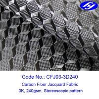 Buy cheap 150cm Stereoscopic Visual Impact 3D Carbon Fiber Fabric product