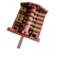 Wholesale AC6 Big Oven Rotary Switch Red Nylon 16A Electric Stove Selector Switch from china suppliers