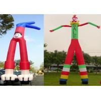 Buy cheap Two Legs Diversified Designs Waving Inflatable Tube Man Height 6m UV Protection from wholesalers