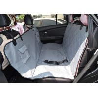 China Non Slip Protective Pet Car Seat Covers Travel With Seat Anchors , Heat Straps on sale