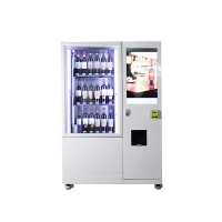 Buy cheap Refrigerator Cooling Large Capacity Wine Bottle Vending Machine With 22 Inch Touch Screen from wholesalers