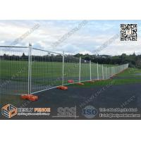 China Canberra Secure Temporary Fence Panels for sale 42micron meter galvanized zinc layer   2100mm height on sale