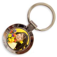Buy cheap Artistic Portable Personalized Metal Keychains For Christmas Decorations from wholesalers