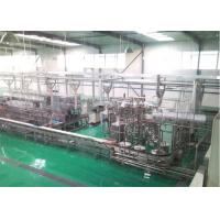 Raw Fresh Milk Processing Machine Turn Key Pasteurized With Plastic Bag