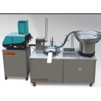 Full automatic stainless steel cover cap lining machine with gluing function Manufactures