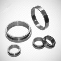 Buy cheap Customized Mechanical Tungsten Carbide Wear Parts Seal Rings for oil and gas industry from wholesalers