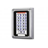 Buy cheap Touch Screen Fingerprint Access Control System With Waterproof Metal Case RFID Card from wholesalers