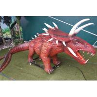 Buy cheap Outdoor Amusement Realistic Animatronic Dinosaur Triceratops For Kids from wholesalers