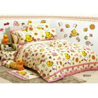 B. Duck Design Twill Cotton Kids Bed Sets for Teenage Single Twin Size Manufactures