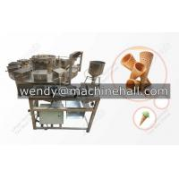 Buy cheap ice cream cone making machine manufacturers|industrial cone cup machines|hard ice cream cup machine from wholesalers