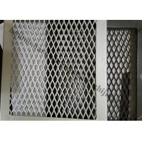 Buy cheap Interior Expanded Metal Facade Panels, Exterior Decoration Aluminum Mesh Screen from wholesalers