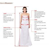 Strapless Beading Chiffon Bridal Wedding Dresses Gown (OGT038W)