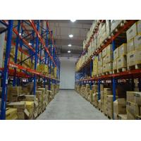 Buy cheap Q235B Steel Industrial Warehouse Shelving Systems Heavy Duty Rack Anti Corrosion from wholesalers