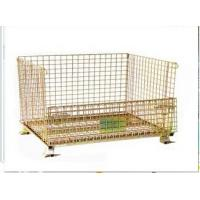 Buy cheap Wire Mesh Roll Container For Warehouse Pallet Rack Storage from wholesalers