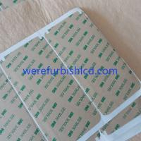 Buy cheap iphone 6 plus 5.5 LCD touch screen front frame glass 3M adhesive sticker glue from wholesalers