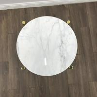 Buy cheap White Marble Stone Countertops Modern Center Coffee Table Tops For Living Room from wholesalers