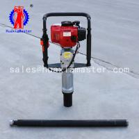 Buy cheap Factory direct sale portable QTZ-3 small Soil Sampling Drilling Rig for soil testing drilling machine alloy bits red dr from wholesalers