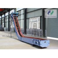 Buy cheap Big Capacity Large Incline Chain Conveyor For Powder Granular Materials from wholesalers