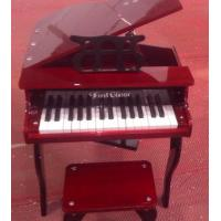 Wholesale 30 Key Solidwood brown Grand Toy wooden piano Kid toy mini piano FS30 from china suppliers