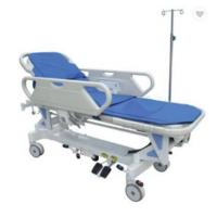 Buy cheap Hospital Economic Transport Ambulance Stretcher CE ISO ABS Handrails Electric Motor from wholesalers