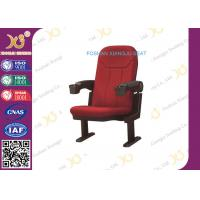 Buy cheap 3d 4d 5d 6d Metal feet Theatre Seating Chairs plastic armrest theatre seat with cupholder from wholesalers