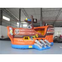 Buy cheap Inflatable pirate boat 6x3m Mini Inflatable bounce Inflatable Combo kids outdoor inflatable pirate ship from wholesalers