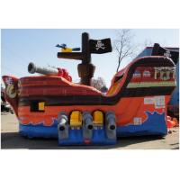 Buy cheap Pirate Ship Slide Inflatable Combo Jumping House For Birthday Party from wholesalers