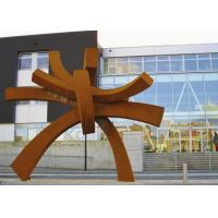 Wholesale Modern Large Corten Steel Sculpture For Public Garden Decoration 300cm Height  from china suppliers
