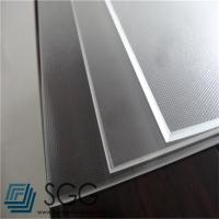 Buy cheap photovoltaic tempered glass sheet 3.2mm Low Iron Mistlite Patterned Glass from wholesalers