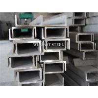 China C Channel Stainless Steel Channel Bar / SS Channel Pickled Finish on sale