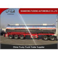 Buy cheap 3 Axles And 4 Axles 60000 Liters Stainless Steel Oil Fuel Tanker Tank Semi Trailer from wholesalers