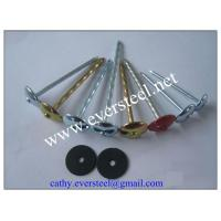Buy cheap 9g x 3 galvanized umbrella head roofing nails from wholesalers