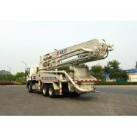 Buy cheap 265kW 6x4 Mobile Truck Mounted Concrete Pump Trucks Ssab Steel 37m from wholesalers