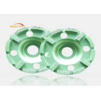 Buy cheap Artifical Stones Polishing Angle Grinder Diamond WheelFor Dry / Wet Grinding from wholesalers