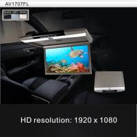 Buy cheap Wide Screen Car Flip Down Monitor Dual IR Transmitter TFT HDMI from wholesalers