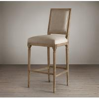 Buy cheap french retro bar chair bar chairs antique wooden bar stool wood bar stools wooden barstool from wholesalers