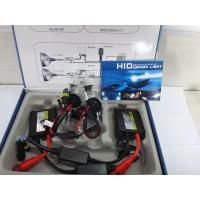 DC 35w h3 single bulb hid xenon kit (slim ballast) color box packing with black and red wire Manufactures