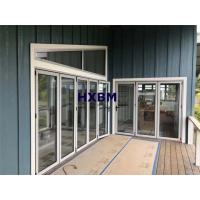 Buy cheap Double glazed Aluminum Folding Doors 75mm Depth For building contractors from wholesalers