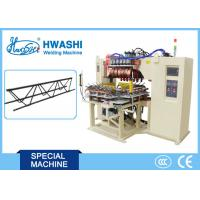 China Automatic Wire Mesh Welder Reinforcing Steel Bar Welding Machine With Rotary Table on sale