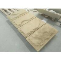 Buy cheap Yellow red Natural Sandstone Paving mushroom slab tile from wholesalers