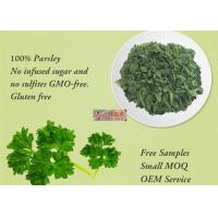 Freeze Dried Dehydrated Vegetable Flakes Parsley For Healthy Food Ingredients Manufactures